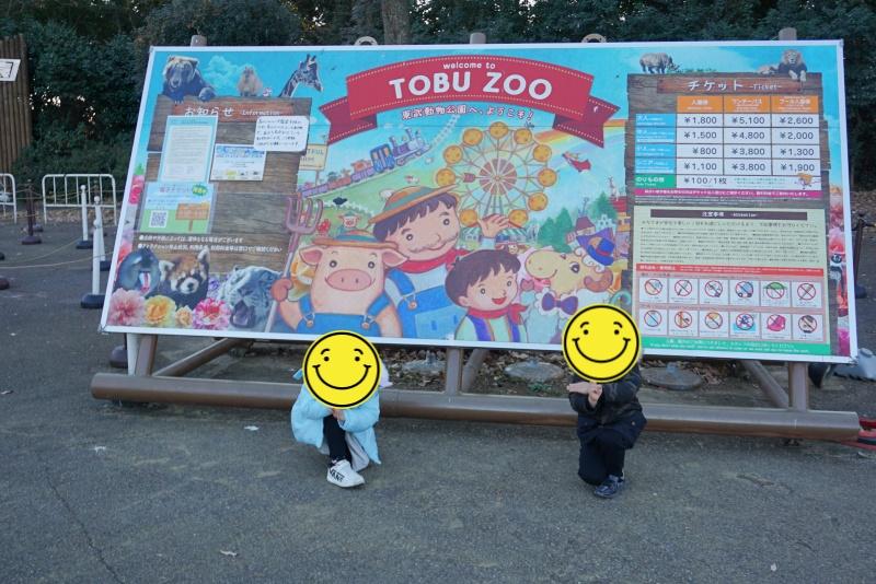 東武動物公園のウインターイルミネーション