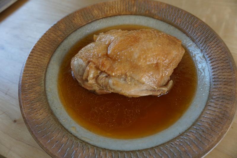 鶏のふっくらつや煮